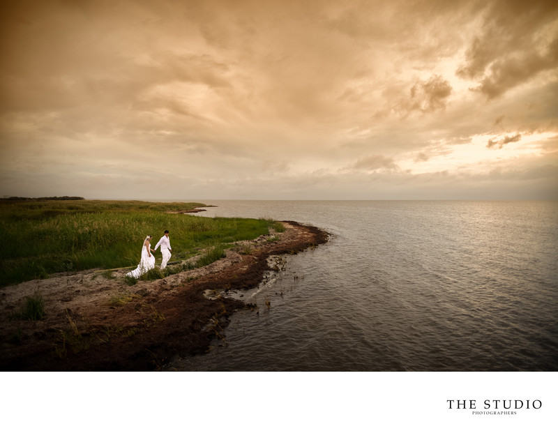 NJ Wedding Photographer on Destination Wedding in OBX