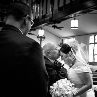 Emotional Moment Wedding Picture