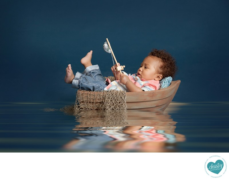 Little Boy In A Boat Christy Whitehead Photography