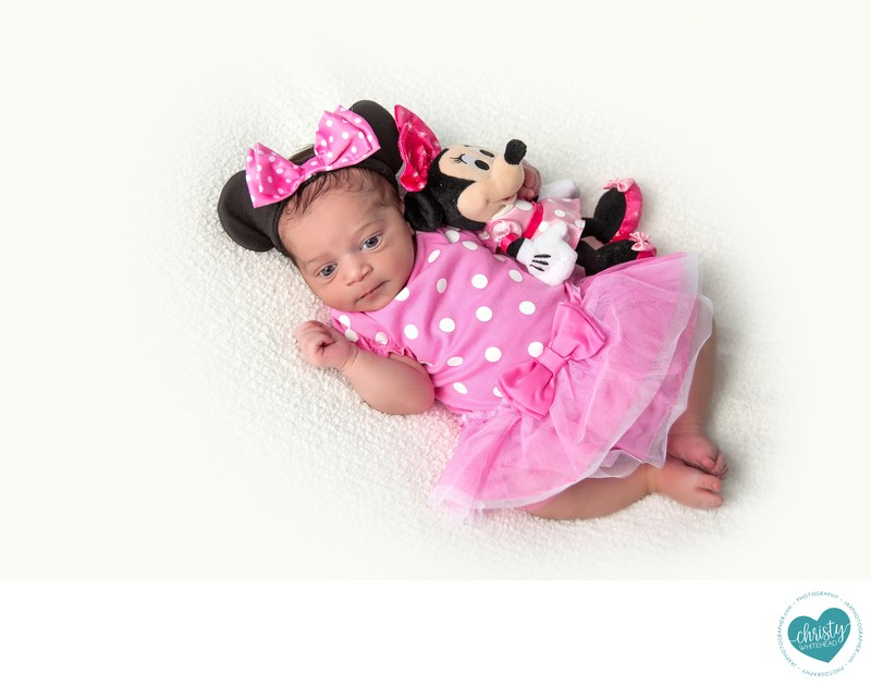 Little Minnie Mouse Newborn session