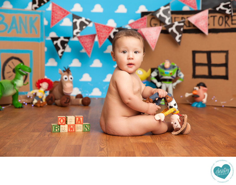Toy Story Themed Christy Whitehead Photography