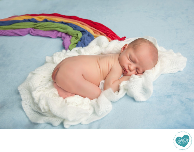 baby photographer in Jacksonville, Fl, Rainbow baby