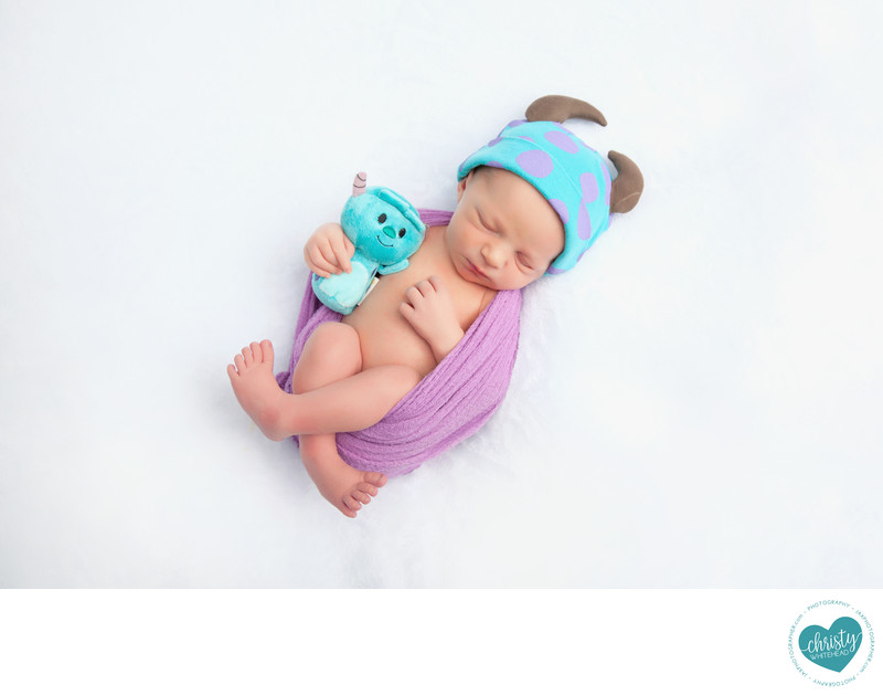 Baby Sleeping Photo Shoot JAX Florida Photography