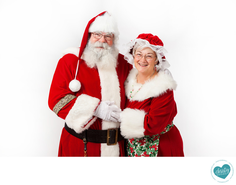 Santa Outfit With Wife Photography JAX Florida