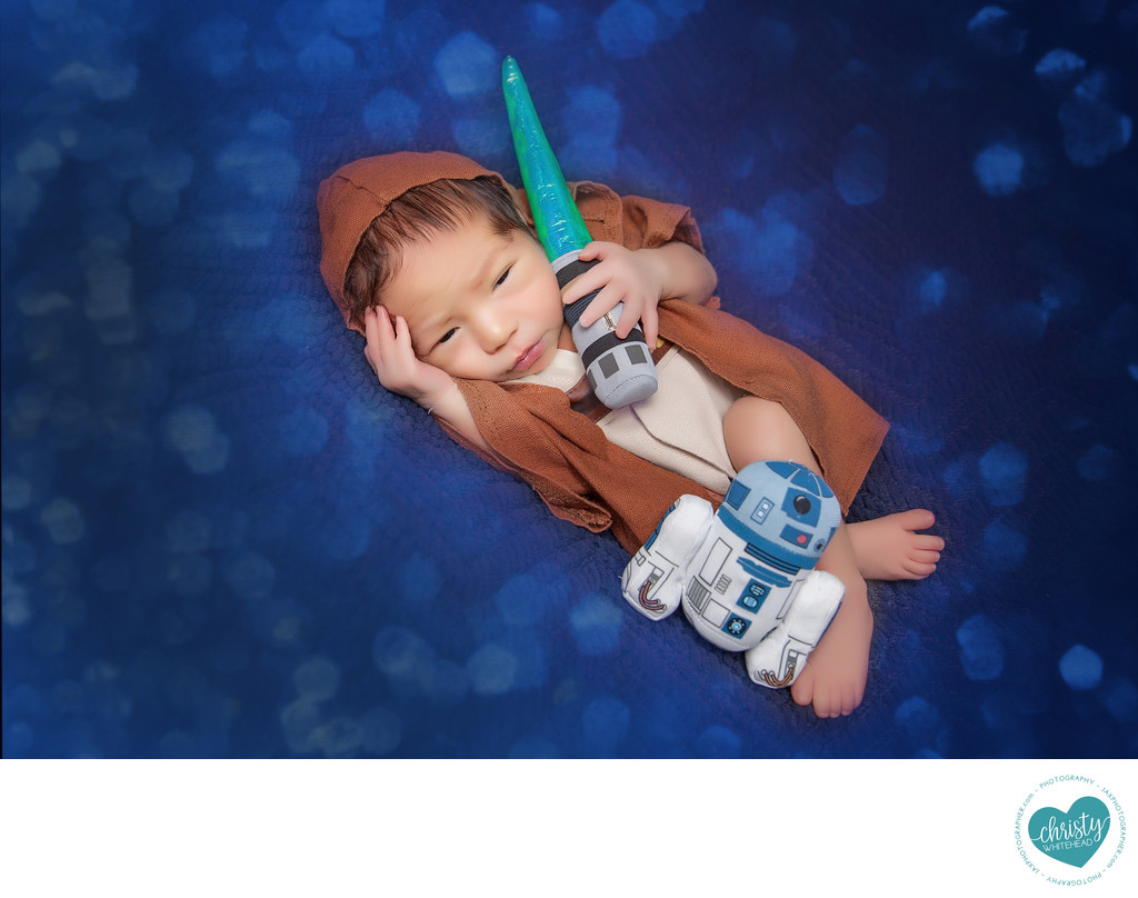 Newborn Baby Star Wars Photo Shoot Jacksonville