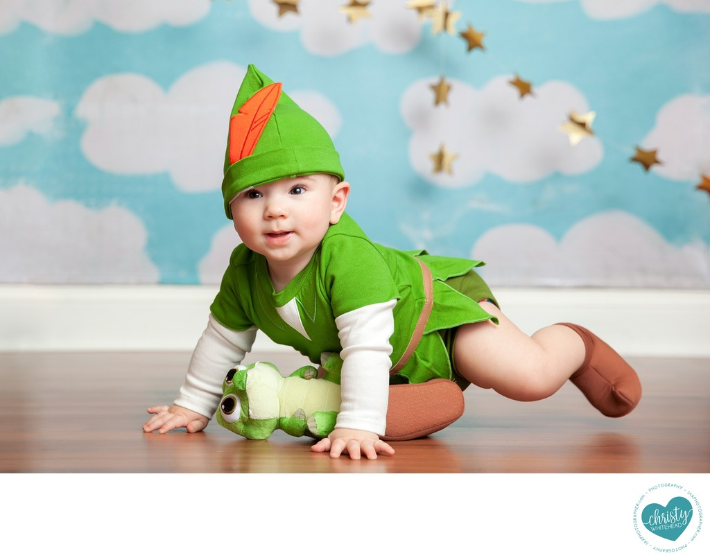 Peter Pan Outfit Baby Boy Photo Shoot Duval County