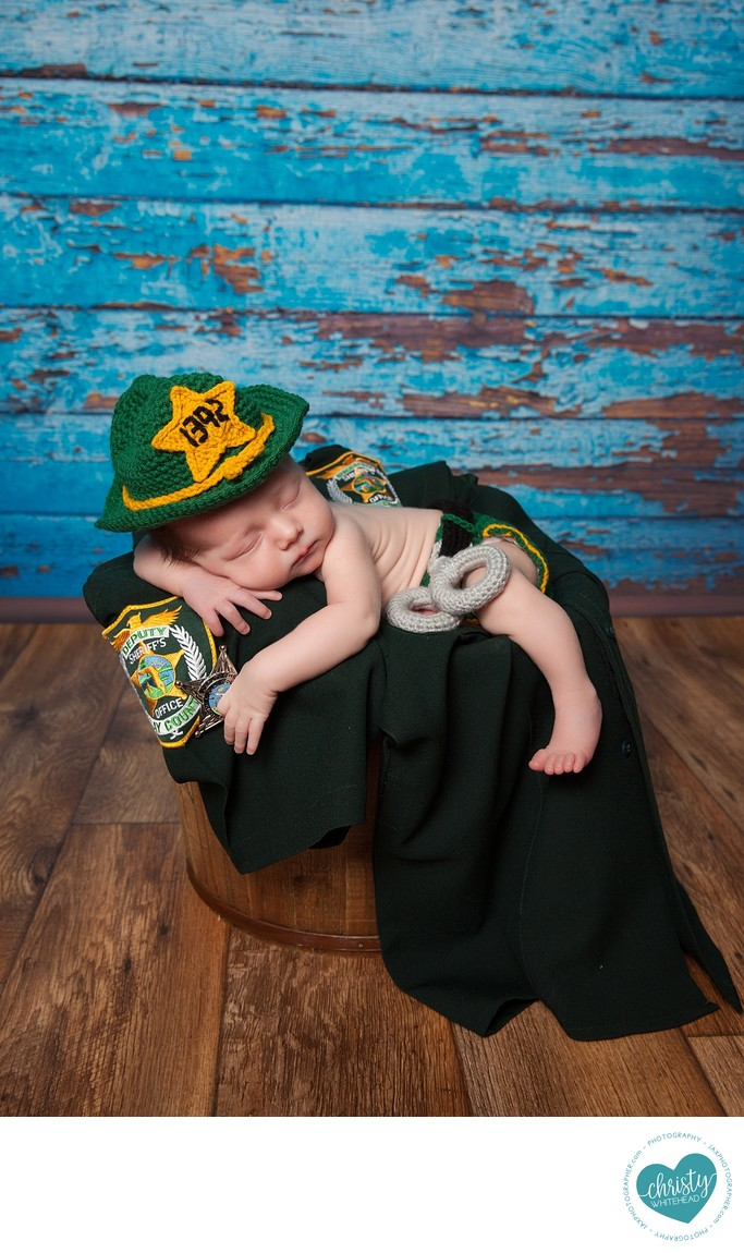 Little Sheriff Baby In Orange Park Florida
