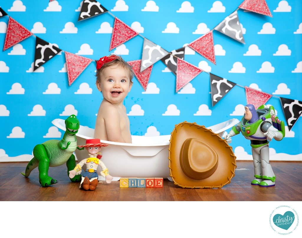 Baby Toy story Bath Photo Shoot Jacksonville