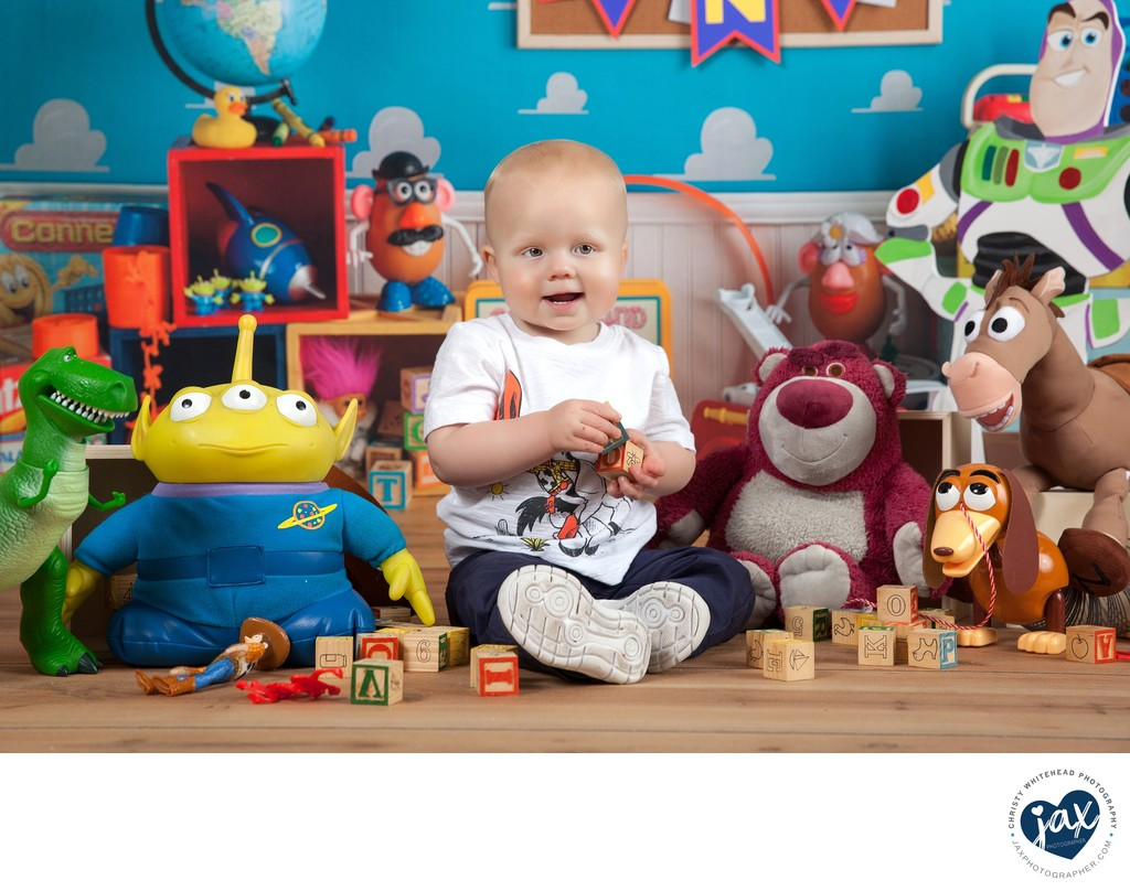 Toy Story First Birthday Photo Shoot Christy Whitehead Photography