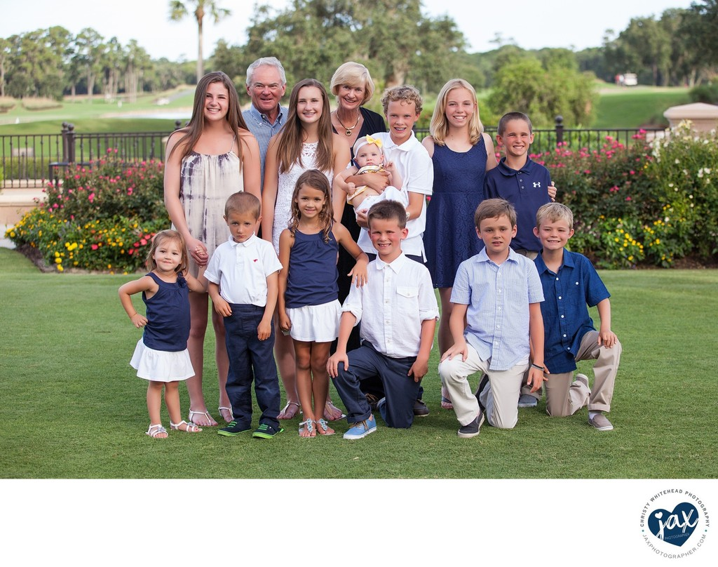 Grandparents and Grandkids Family Photo Jax, FL