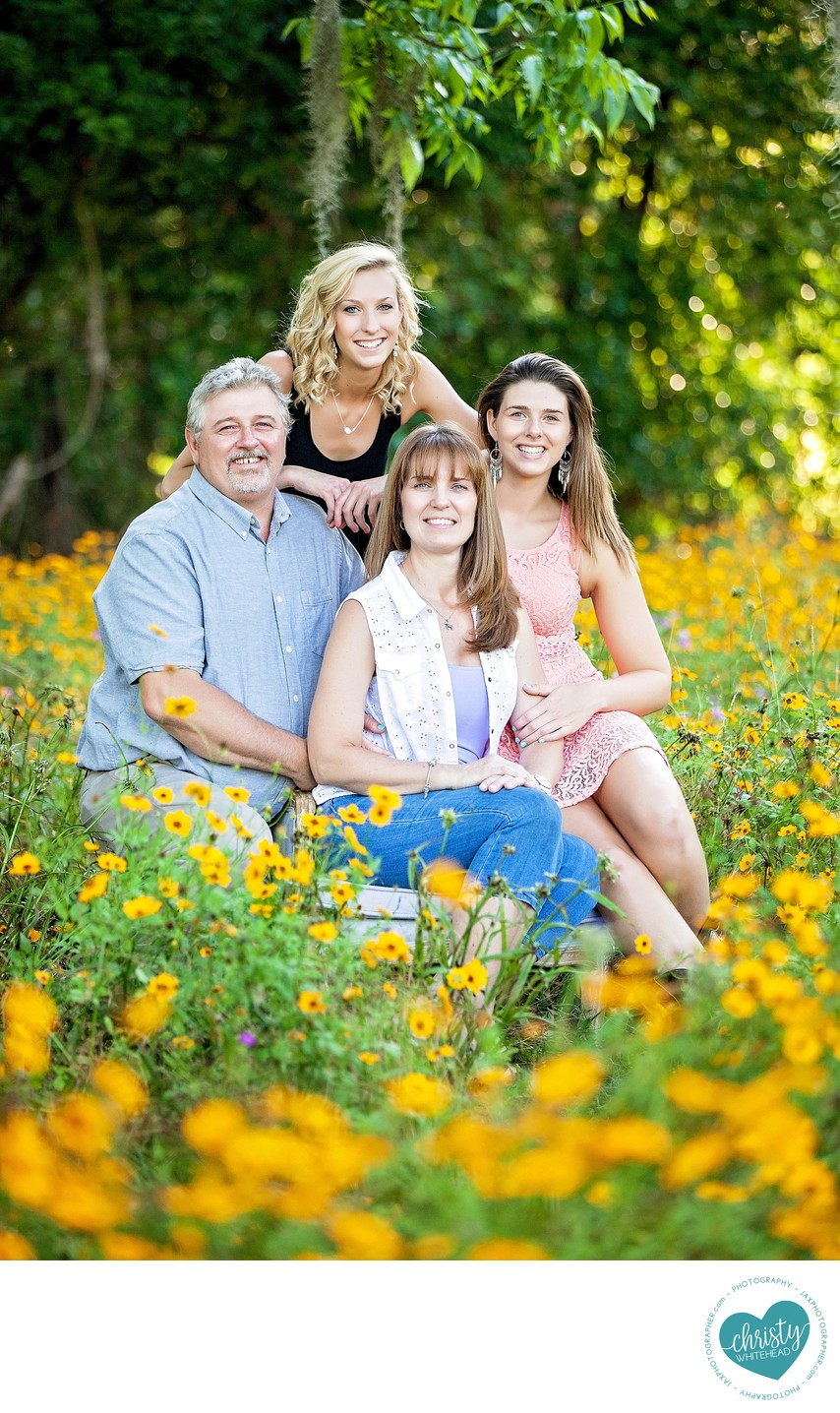 Outdoors Family Photo Shoot Florida