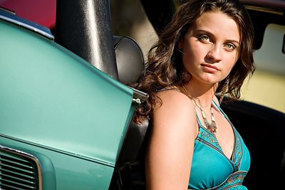 Stunning Girl Photo Shoot With A Car JAX
