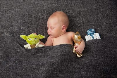Star Wars Newborn Photo Shoot Christy Whitehead