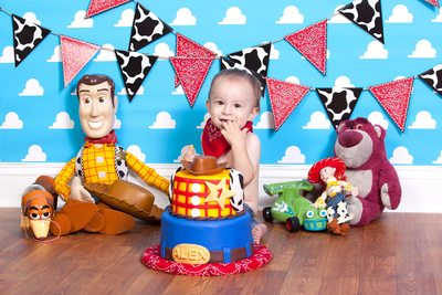 First Birthday Alex's Toy Story Cake Smash JAX