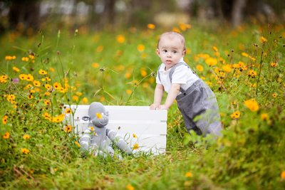 Little Boy In The Field JAX Florida