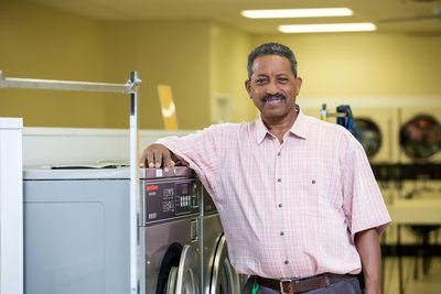 Laundry Owner Photo Shoot Florida Photography