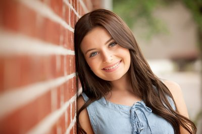 Stunning Girl Photo Shoot In Brick Wall JAX Florida