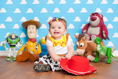 Newborn Toy Story Themed Photo Shoot JAX