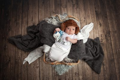 Star Wars Baby Photography By Christy Whitehead