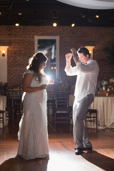 Last dance with groom White Room