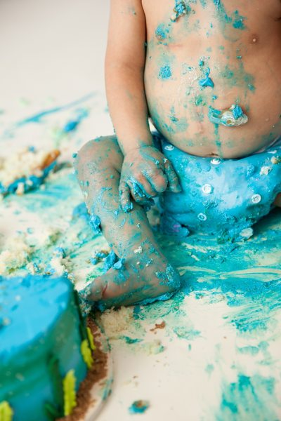 Baby Boy Smash Cake Photo Shoot Duval County