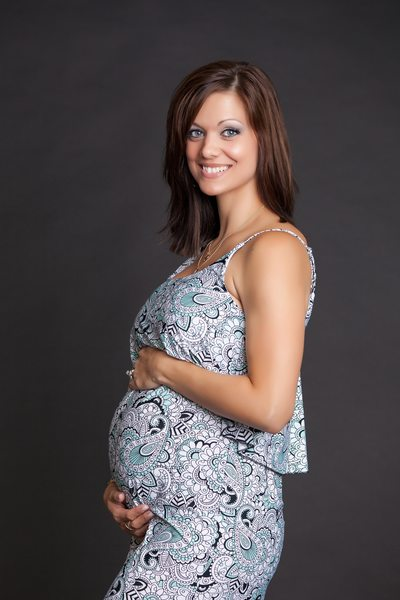 Beautiful Pregnant Woman Photo Shoot JAX Florida