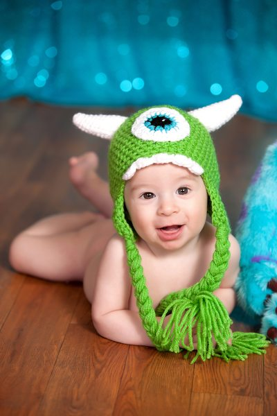 Little Baby With Disney Hat JAX Florida