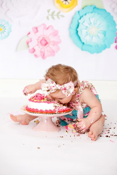 Face First into the Cake Smash