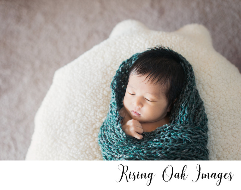 Austin lifestyle in-home newborn photography