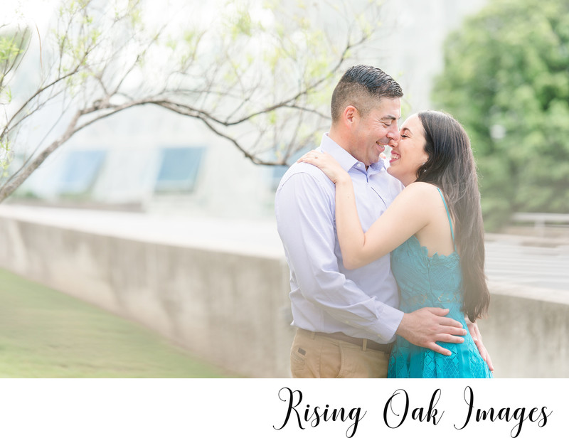 San Antonio Botanical Garden Engagement Session
