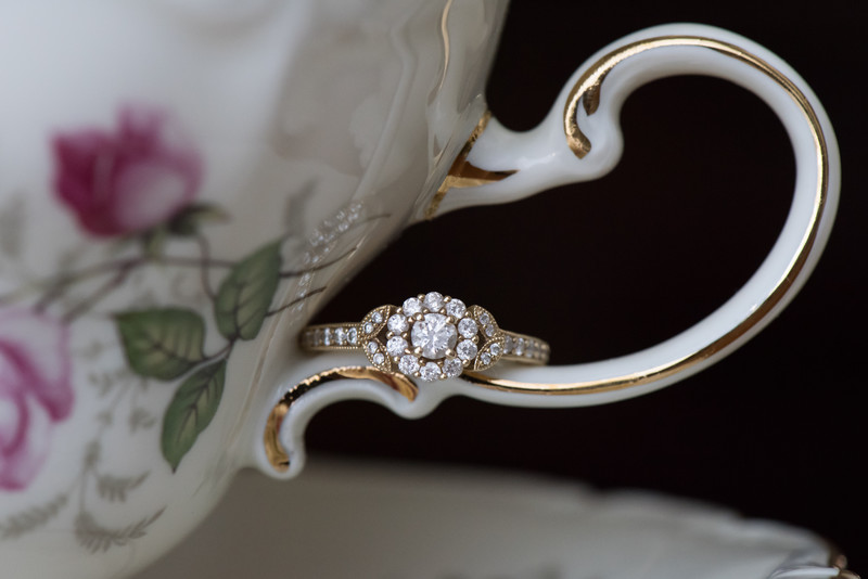 Engagement Ring on Heirloom China