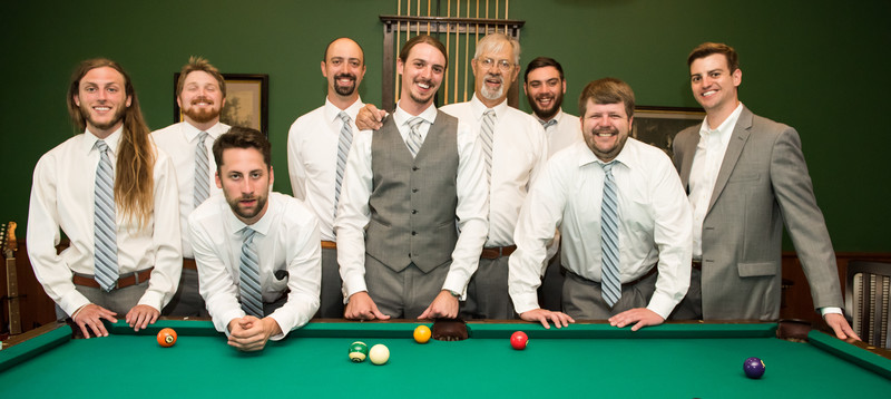 Fairhope Wedding Photographer-Groom and Groomsmen
