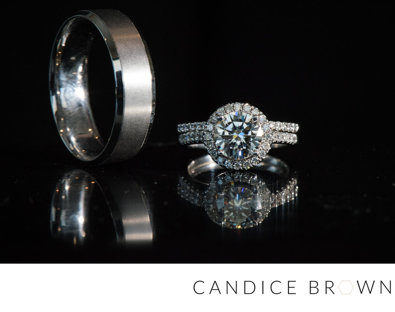 Wedding Rings Fairhope AL Candice Brown Photogrpahy