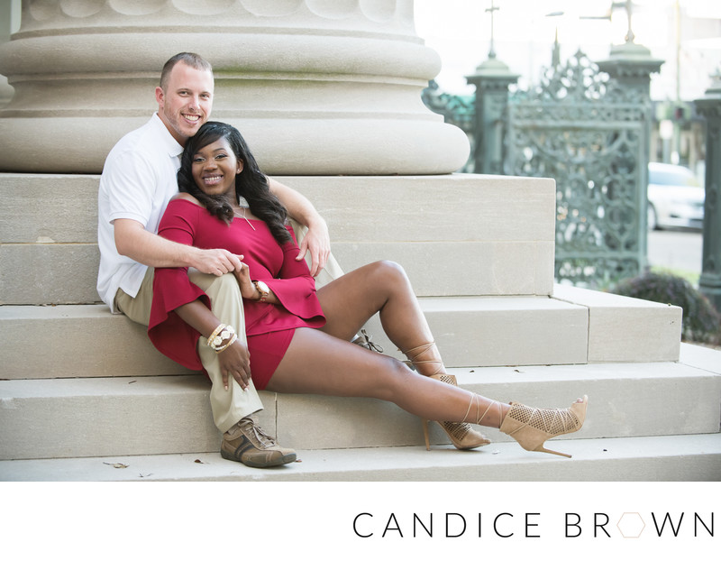 Mobile Alabama Wedding Photographer Engagement Session