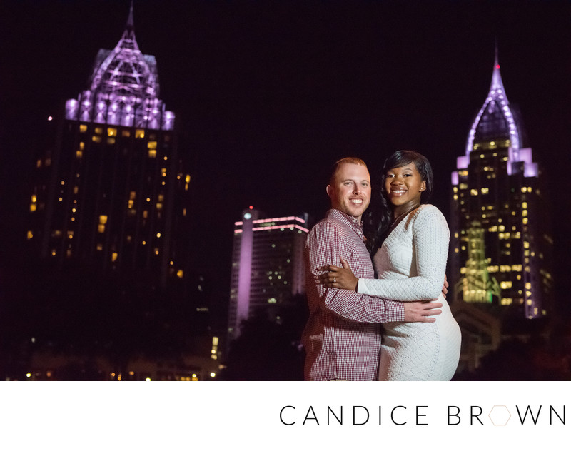 Downtown Mobile Engagement Candice Brown Photography