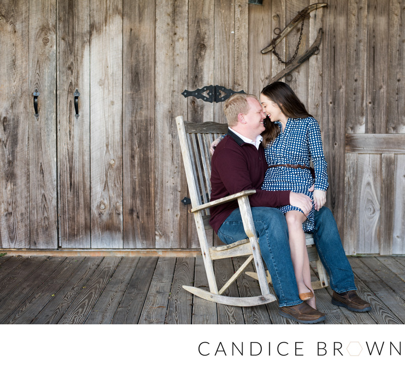 Oak Hollow Farm Engagement Fairhope Alabama
