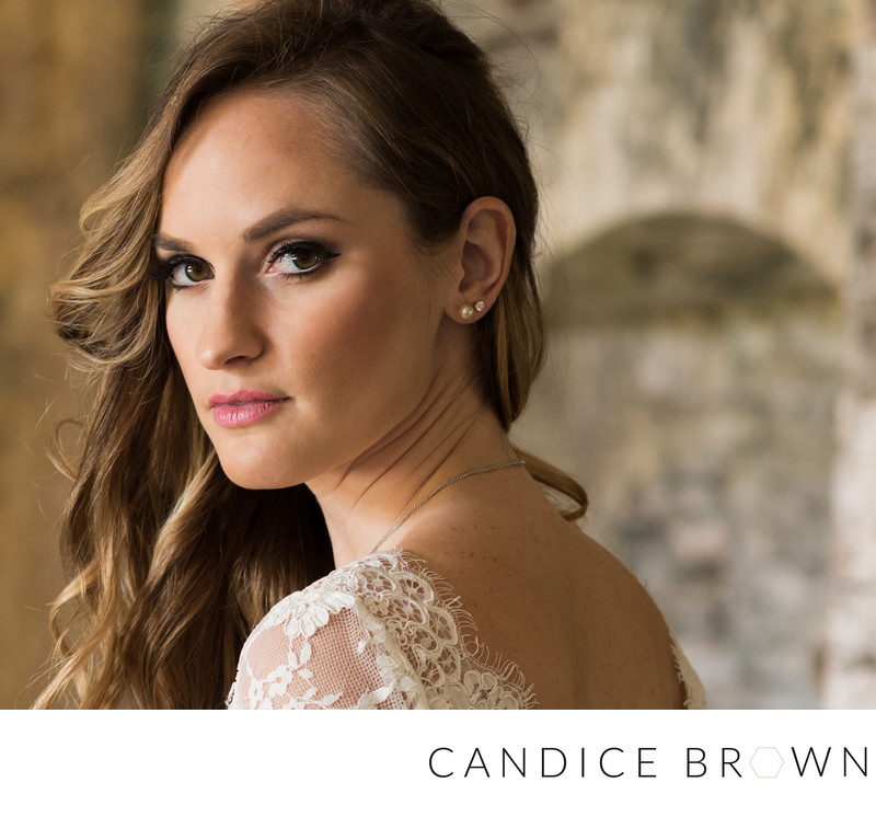 Bridal Portrait Fort Morgan Grand Hotel Point Clear