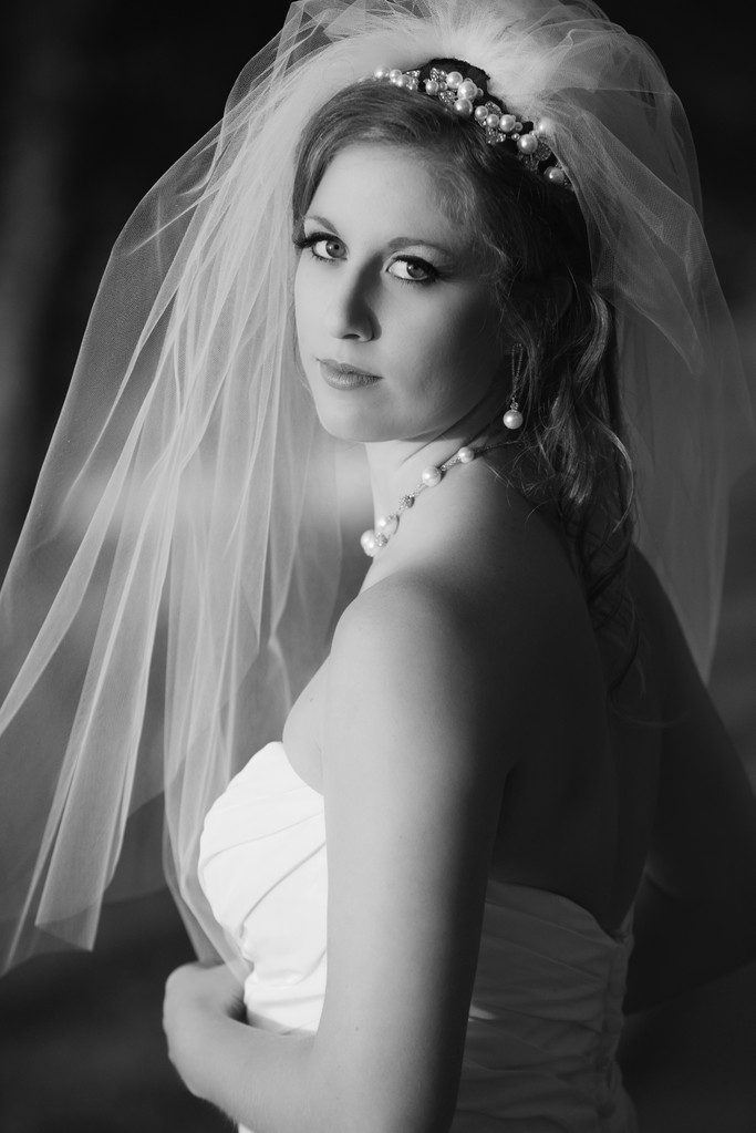 Bride in Fairhope Alabama - Wedding Photography
