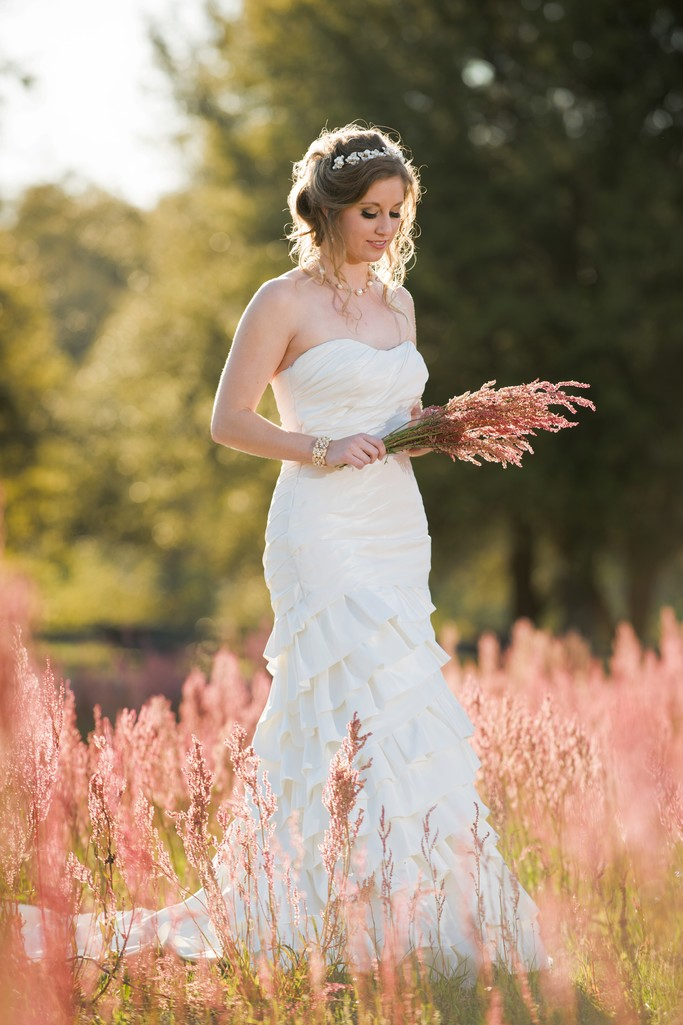 Bride in Fairhope Field