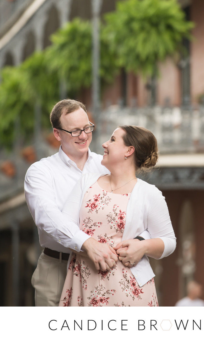 French Quarter Wedding Photographer Engagement Session