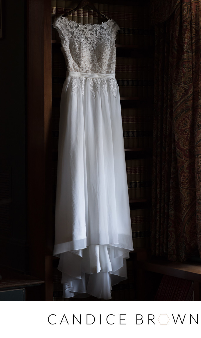 Wedding Dress at Ezell House-Candice Brown Photography