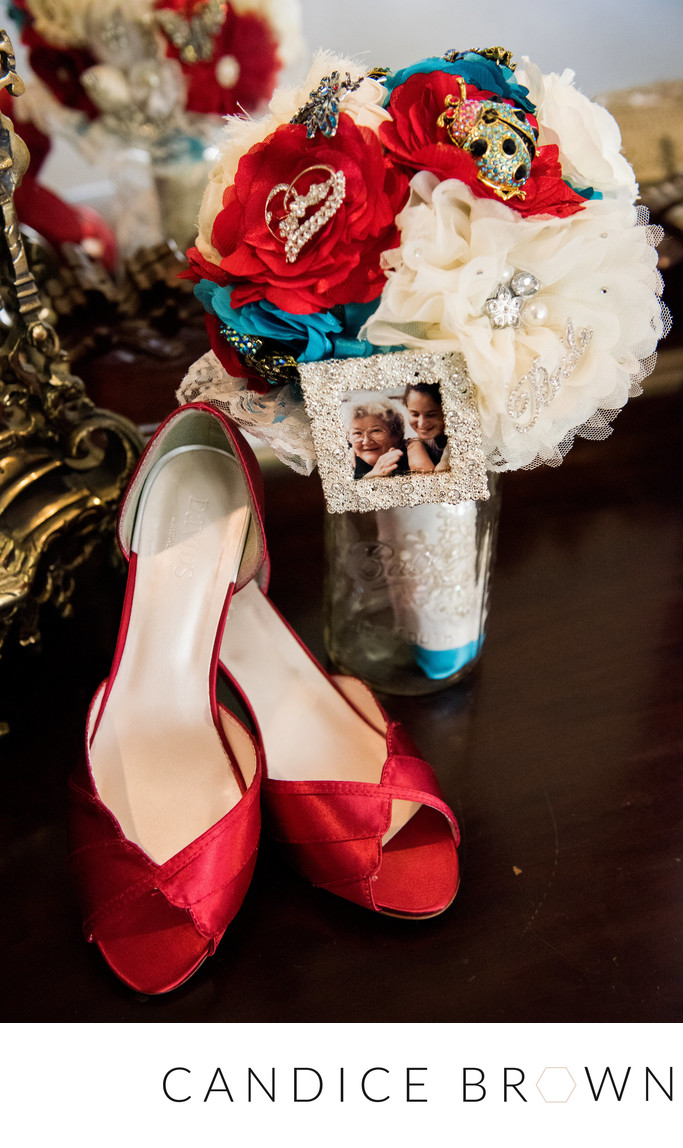 Red and Blue Inspired Wedding Nix Center Fairhope AL