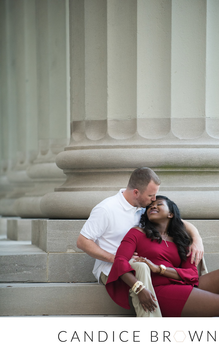 Cathedral Square Engagement Wedding Photography