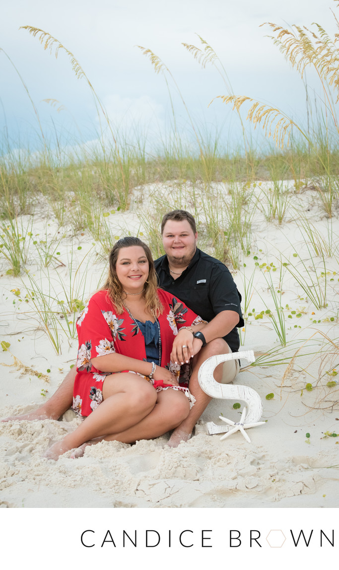 Engaged Orange Beach Alabama-Candice Brown Photography