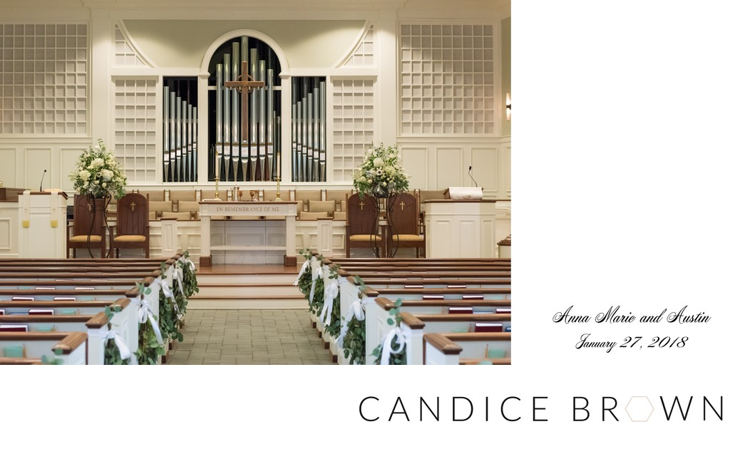 Trinity Presbyterian Church Fairhope Wedding