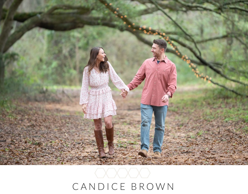 Engagement Photographer Fairhope Oak Hollow Farm