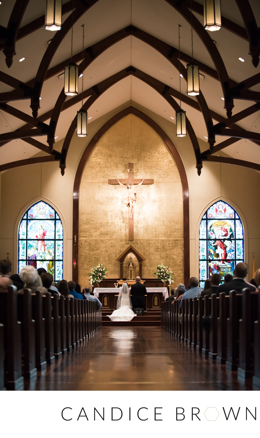 Foley Alabama Catholic Wedding Photographer