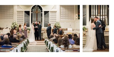 Trinity Presbyterian Church Fairhope Wedding Ceremony