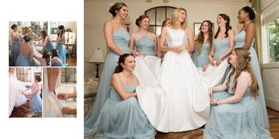 Blue Wedding-Oak Hollow-Fairhope-Alabama