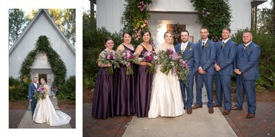 Steelwood Country Club Outdoor Wedding Space